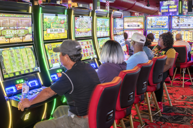 Rosie's Gaming Emporium at Colonial Downs in New Kent County
