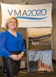 Ashley McLeod, Virginia Maritime Association's vice president for communications and marketing
