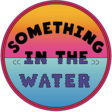 Something in the Water festival logo