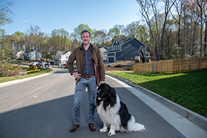 The pandemic has changed what people are seeking in a home and has accelerated an urban exodus to the suburbs, says Daniel Jones, president of East West Communities' Richmond division. Photo by Matthew R.O. Brown