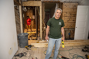 Paul Reimers, owner and president of PR Construction & Development in Leesburg, says demand for home remodeling is at the highest point he's seen in nearly 35 years. Photo by Will Schermerhorn